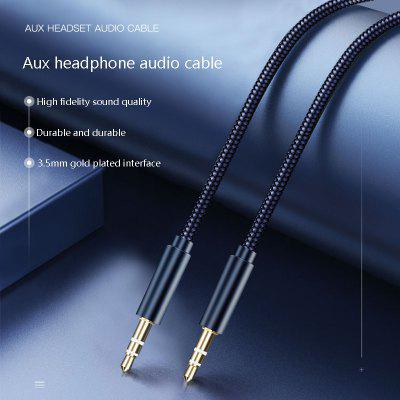 2m/3m Aux Car Audio Cable 3.5mm Car Speaker Phone Male To Male Cable