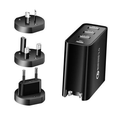 48Wpd Charger Pd Four-Port Type-C Mobile Phone Charger Pd+Qc3.0+2.4A Tablet Pd Charger