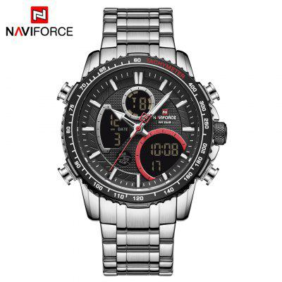 Naviforce 9182 new business casual multi-function mens sports watch