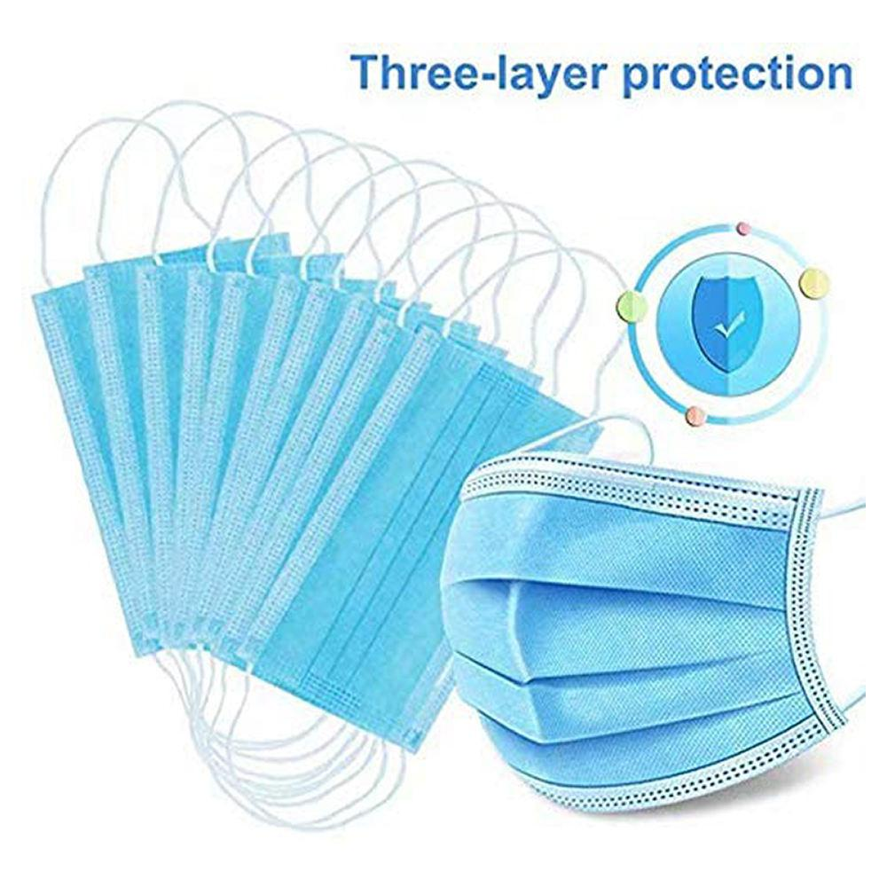 DHL 50PCS Disposable Masks Dust-proof Meltblown Filter Layer Free shipping