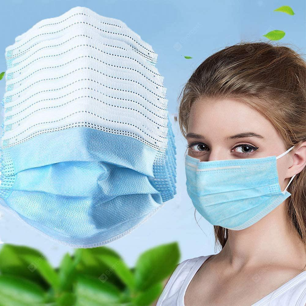 DHL 50PCS Disposable mask Protective Face Mask