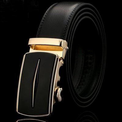 Famous Brand Belt Top Quality Genuine Luxury Leather Belts for Men Strap Male Metal Automatic Buckle