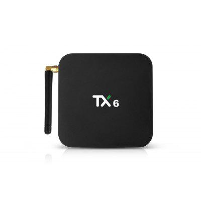Newest H6 TV box Quad Core Android 9.0 Tanix TX6 4GB 32GB Internet Allwinner H6 Android TV Box Image