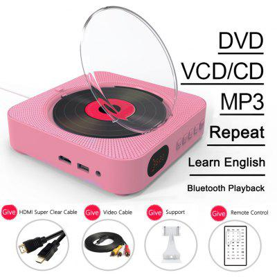 Hot Selling Wall Mount Remote Control CD/DVD Player For Home