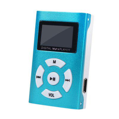 Mini USB MP3 Player LCD Screen  SD TF Card Rechargeable Music Players 3.5mm Jack Portable Audio Reproductor