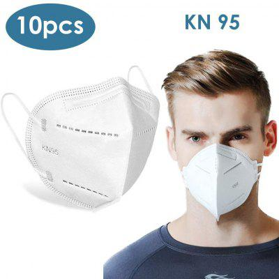 10-Pieces N95 KN95 Face Protective Masks