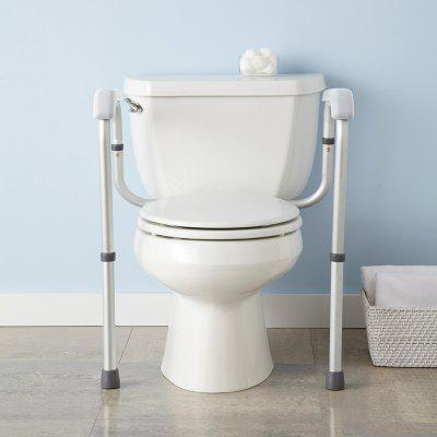 Independent Toilet Safety Rails Toilet safety rail Toilet handrail  Bathroom Auxiliary Frames