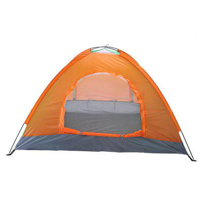 2-Person Folding tent Double Door Camping Dome Tent Double Layer Backpacking Tent