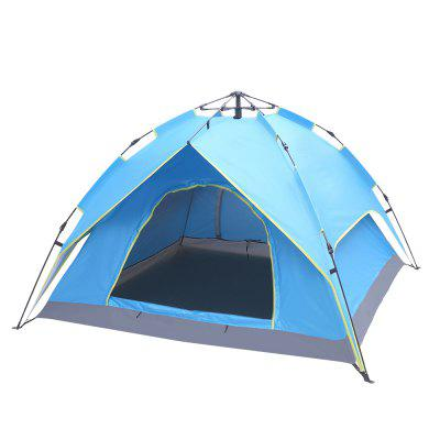 2-3 Person Camping DomeTent Camouflage Double-layer Double DoorTent Waterproof Resistant DomeTent