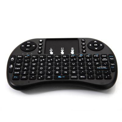 i8 Mini 2.4GHz Wireless Keyboard Game Keyboard Designed with Built-in Touchpad