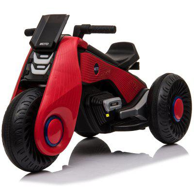 Children Toys Car Electric Motorcycle 3 Wheels Double Drive Toy Cars for Kids to Drive