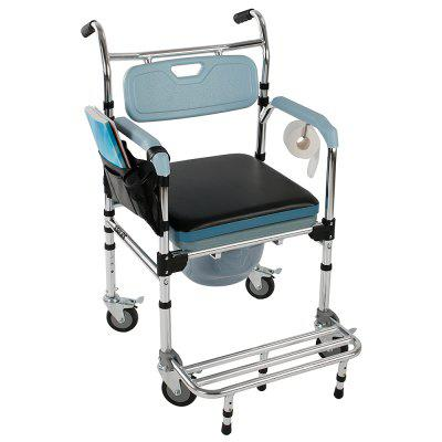 Multifunctional Toilet chair Commode Chair Bath Chair  Aluminum Elder People Disabled People Pregnant Women Stools Chairs Have Armrests