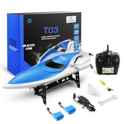 Racing Boats Kid Pools Toy Water Toys High-Speed Remote Control Boat Holiday Gift in US Stock