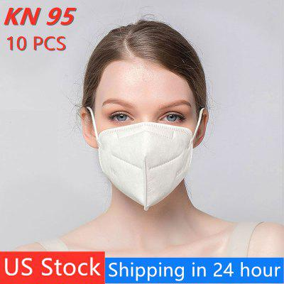 Disposable KN95 N95 Mouth Mask Unisex Earloops Dustproof Mouth Mask Common Non-medical Mask