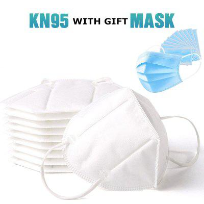 KN95 Face Mask Anti Dust Bacterial Mask 5 Layer PM2.5 Dustproof Protective