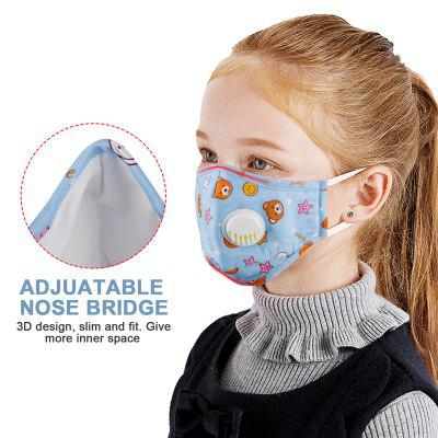 Face Mouth Mask Reusable Breathable Cotton Children Kid Cartoon Cute PM2.5 Anti-Dust Mouth Face Mask