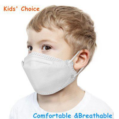 KN95 Kids Face Mask 3-12 Years Old Children Dustproof Anti-fog Breathable Masks Non-medical