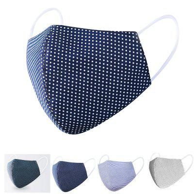 Fast Delivery Outdoor Washable Reusable Face Mask Protection Cotton Mouth Dust Proof Soft Breathable Non-medical
