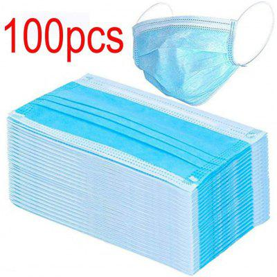 Face Masks Elastic Earloop Dustproof Anti-bacteria Disposable Protection for Health Care Non-Medical