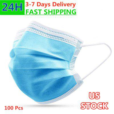 Disposable Medical Face Mask 3 Ply High Quality Cotton and Non-woven Filter Cloth FDA CE Approved