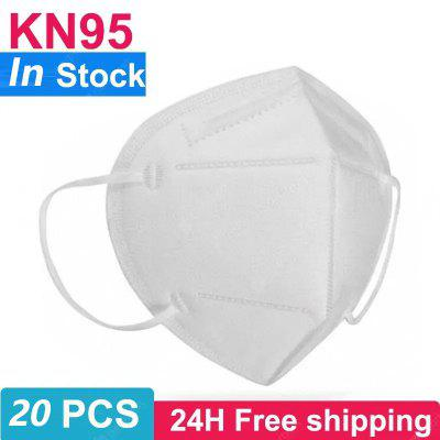 10PCS KN95 N95 Respirator Face Mask Disposable Breathable Protective Non-medical Masks for Health