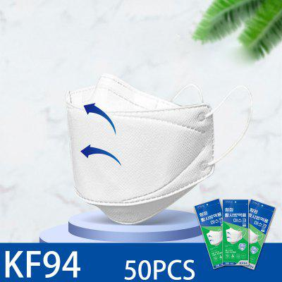 10PCS  KF94 Face Mask Protection Anti Flog Dust Respirator Non-Medical Masks
