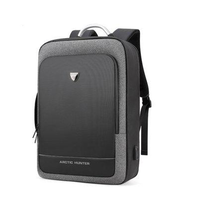 ARCTIC HUNTER 17inch USB Waterproof Anti Theft Laptop Mens bags