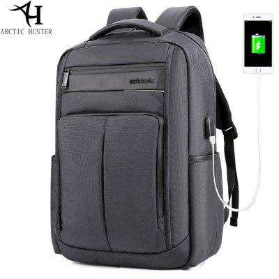 ARCTIC HUNTER Waterproof Laptop Backpack Rucksack USB Port Computer Backpacks