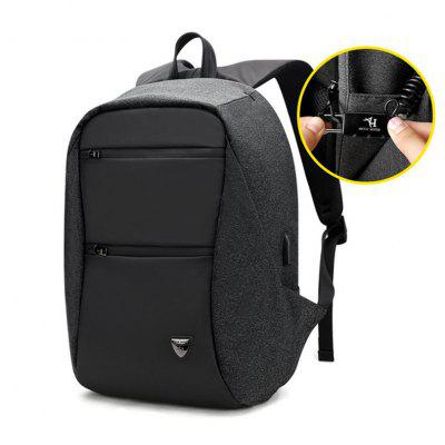 ARCTIC HUNTER 15.6 inch USB Waterproof Anti Theft Laptop Mens Sport Travel Business Notebook Backpack Schoolbag Pack for male