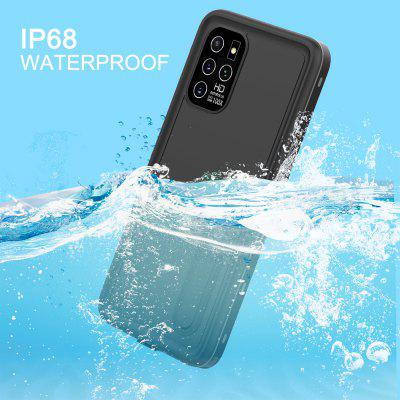 Waterproof Case Stand For Samsung Galaxy S20 Ultra Case Dustproof Diving Cover For Galaxy S20 Plus Ultra Phone Cases Coque IP68