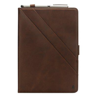 Tablet Leather Case for iPad Pro11 2018 Cover with Double Bracket Modern Vintage Style Ultra Premium PU Smart