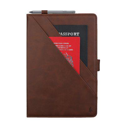 for Huawei Tablet T5 10.1inch Leather Case with Classic Style Auto Sleep Wake Function