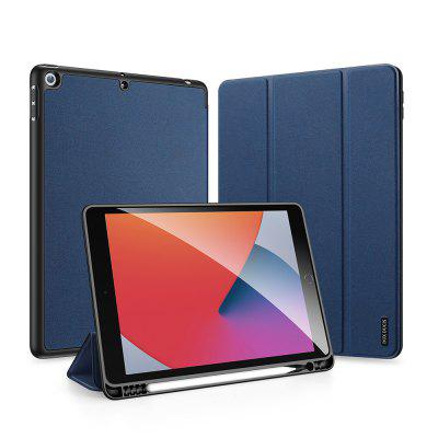 LSG Leather Cover Case for iPad 7 8 10.2 inch with Auto Sleep Wake Function Tablet Full Proction