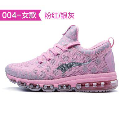 Onemix eurocup commemorative pair of running shoes cushioning breathable four seasons woven shoes for men and sneakers for women