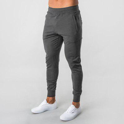 Sports Pants Mens Pants Elastic Mens Cotton Slim Calf Fitness Training Running Pants