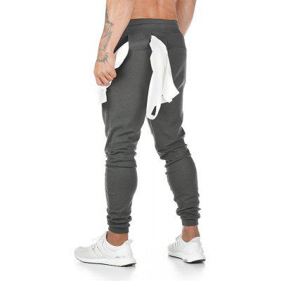 Sports Pants Mens Pure Cotton Fitness Pants Running Training Pants