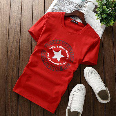 Summer New Mens T Shirt Casual Mens Short Sleeve  T Shirt Mens