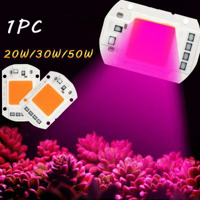 20W/30W/50W LED Plant Grow COB Chip Light Greenhouse Garden Hydroponic Full Spectrum Growing Lamp for Plants Veg and Flower