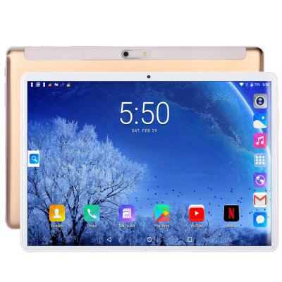 2020 S10 New 10 Inch 3G 2G Phone Call SIM Card Octa Core FM WiFi Tablet Pc Android 7.0 WIFI Bluetooth 4GB+64GB IPS LCD Display