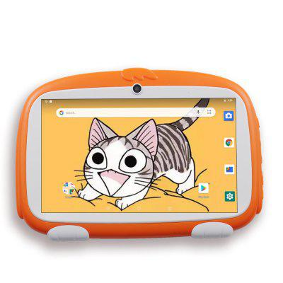 7 Inch Children Tablet PC Education Android 9.0 Tablets Pc 1GB +16GB Nice Design Learning entertainment tablet Pc Image