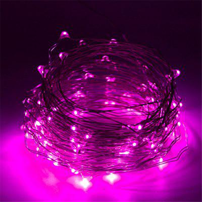 DINGDIAN LED String Light Holiday Copper Wire Fariy Light USB/Battery Decoration 2M 5M 10M Wedding Christmas Light Party Lights