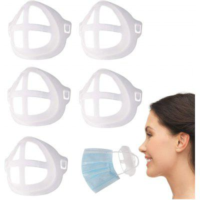 5pcs 10pcs 15pcs 20pcs Silicone 3D Mask Bracket Inner Support Frame for Comfortable Mouth and Nose Wearing by Creating More Space Breathing