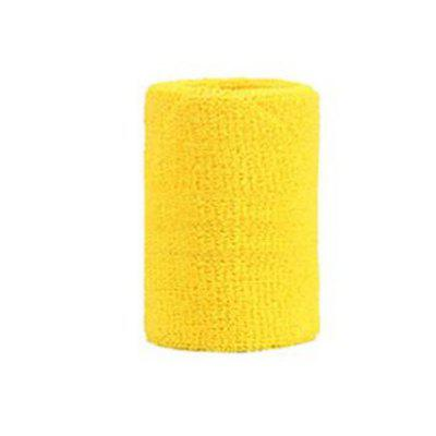 1 Pcs Terry Cloth Wristbands Sport Sweatband Hand Band Sweat Wrist Support Brace Wraps Guards For Gym Volleyball Basketball
