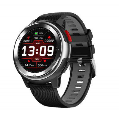 DTNO.1 DT68 Smart Watch 1.2 Inch Full Circle ECG Heart Rate Monitor Waterproof