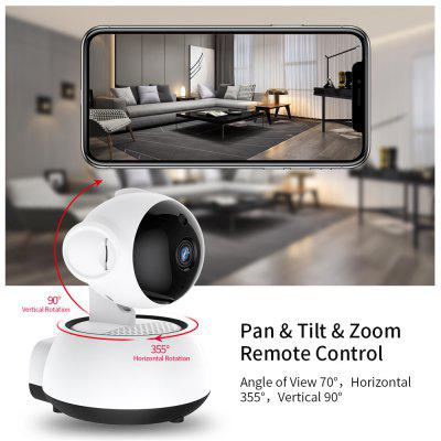 Icy Wifi Camera Home Security IP Camera Wireless Smart WiFi Camera WI-FI Audio Record Surveillance Baby Monitor HD Mini CCTV Camera