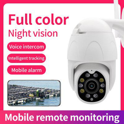 Icy WIfi Camera  Camera Outdoor 4X Digital Zoom AI Human Detect Wireless Camera  P2P ONVIF Audio 2MP Security CCTV Camera for Xiaomi Android Iphone