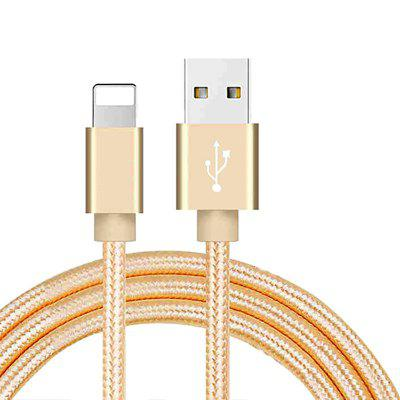 Nylon USB Fast Charging Cable Ipad Mini Phone Lighting Charging Data Cable For Apple IPhone XR XS MAX X 8 7 6S 5S 5 6 Plus