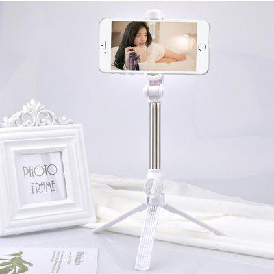 Extendable Bluetooth Handheld Tripod Selfie Stick Phone Holder for 4.7-6.0 Inch Phone with Bluetooth Remote Control