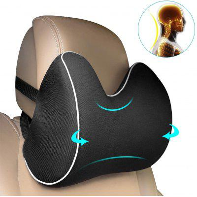 Colorgo Car Seat Neck Pillow Headrest Cushion for Neck Pain Relief&Cervical Support with 2 Adjustable Straps and Washable Cover