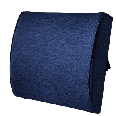 Lumbar Pillow Back Pain Support Seat Cushion For Car or Office Chair 100% Memory Foam Elevates Lower Back Comfort